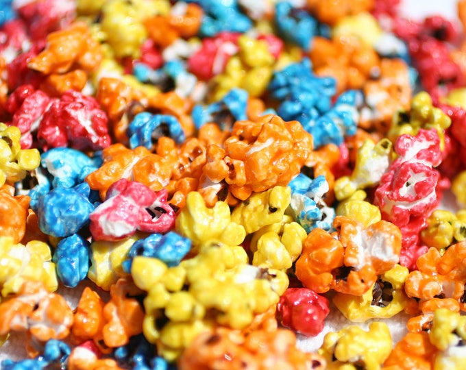 50 Miniature CUTIE POPS POPCORN Corn Multicolored Mini Mix Zea Mays Seeds