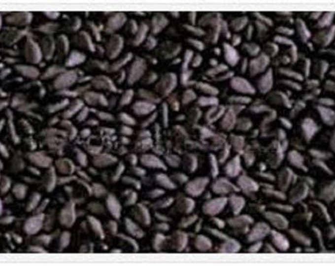 1500 BLACK SESAME Sesamum Indicum Vegetable Flower Seeds