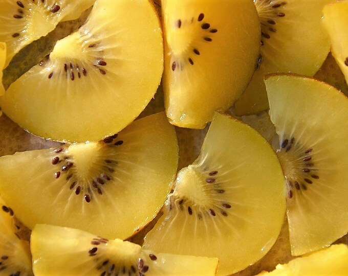 50 GOLDEN KIWI FRUIT Yellow Actinidia Chinensis Kiwifruit Chinese Gooseberry Flower Vine Seeds