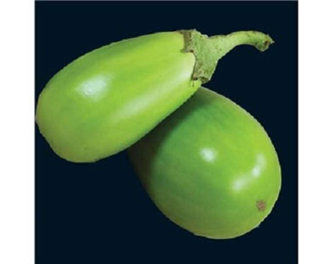 25 APPLEGREEN EGGPLANT Green Fruit / Vegetable Solanum Melongena Seeds