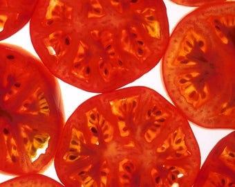200 Red RUTGERS TOMATO Lycopersicon Globe Determinate 8 oz Fruit Vegetable Seeds