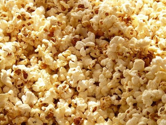 100 CREME PUFF POPCORN Yellow Hulless Pops White Corn Zea Mays Vegetable Seeds