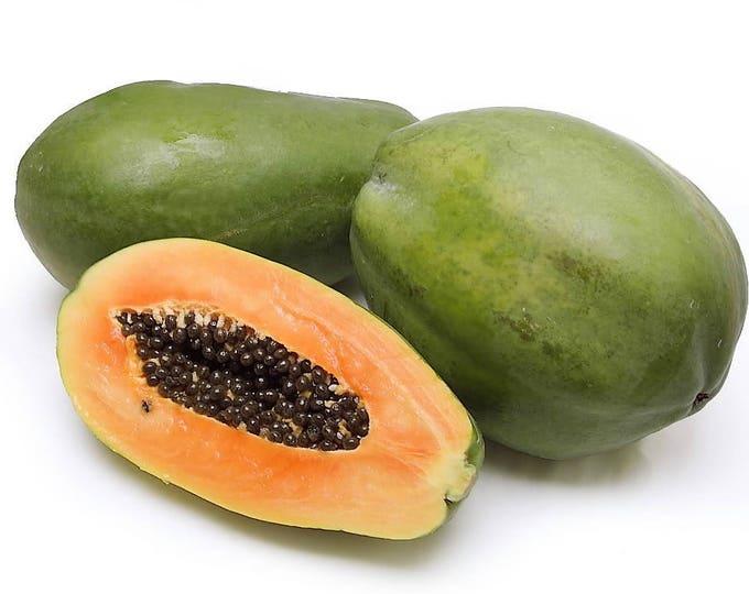 30 PAPAYA MELON Fruit TREE Carica Papaya Seeds *Comb S/H