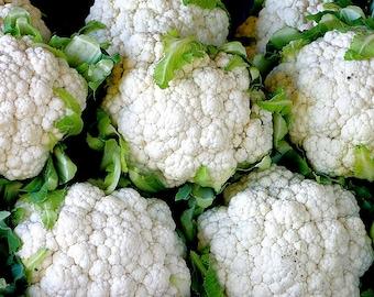 250 SNOWBALL SELFBLANCHING CAULIFLOWER White Brassica Oleracea Vegetable Seeds