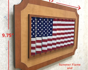 ANY Two Flags (Standard size) /USA Flag/Two Countries/American Flag/Citizenship/Country Flag/Transition Photo