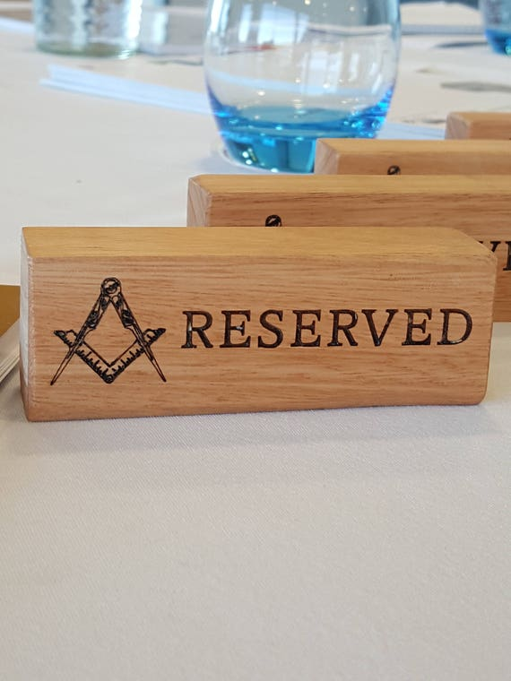 Reserved Sign Dining Room Sign Table Number Ideas Etsy