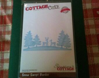 Cottage Cutz Snow Swept Border