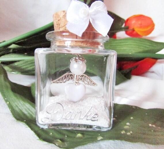 Geburt Neu 10 Herz Schutzengel im Glas Gastgeschenk,Taufe,Hochzeit Kommunion