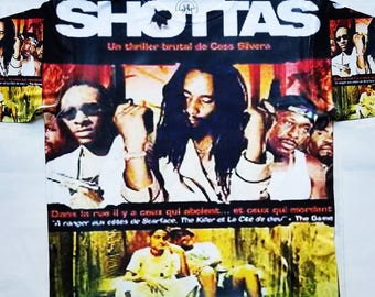 The Shottas sublimation T shirt