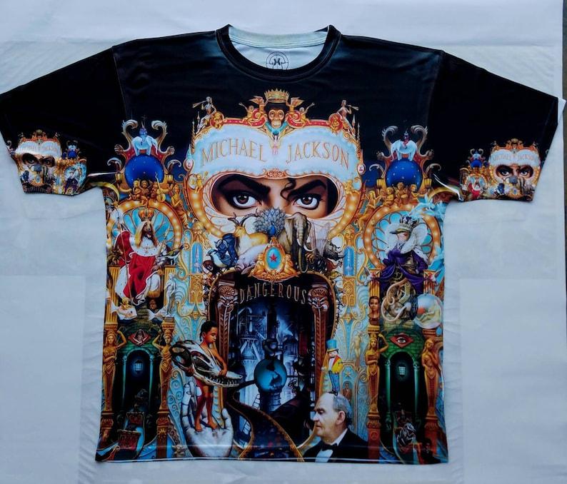 dbb50b36bf Michael Jackson Dangerous T shirt