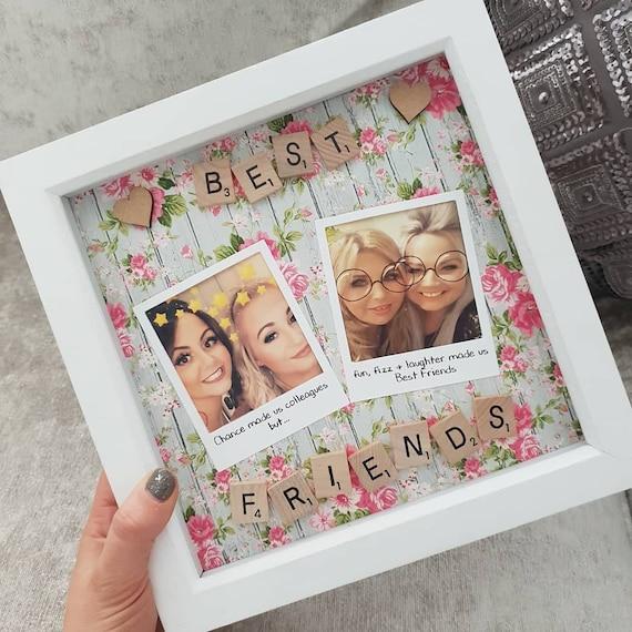 Personnalisé meilleurs amis souvenirs souvenir d/'impression A4-Encadré Cadeau