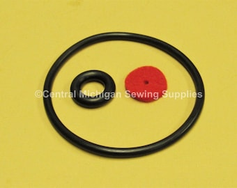 FITS MOST OLD MACHINES STRETCH RUBBER TOP QUALITY SEWING MACHINE MOTOR BELT