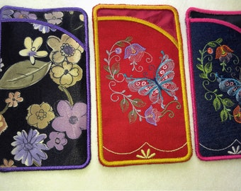 Eye Glass Case (Holder)  or  Cell Phone case  - Made in Canada
