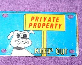 Bulldog plates | Etsy