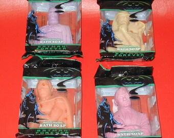 Batman Forever original soap bars vintage rare collectible super hero movie new old store stock