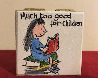 Matilda Chocolate Box.Teachers Gift.Chocolate Gift.