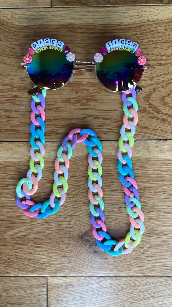 Chunky Sunglasses Mask Lanyard Chain