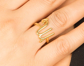 Zodiac Scorpio Rings, Astrology Rings Sign, 14k Gold Zodiac Rings, Custom Zodiac Ring, Horoscope Scorpio Jewelry Ring, Christmas Gift Rings