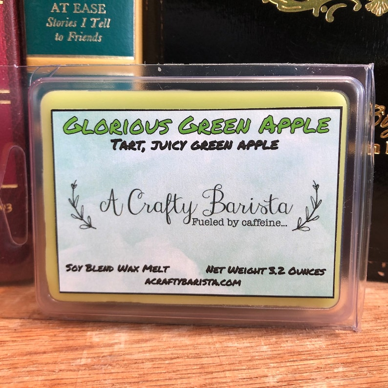 Glorious Green Apple Scented Wax Melt Cubes