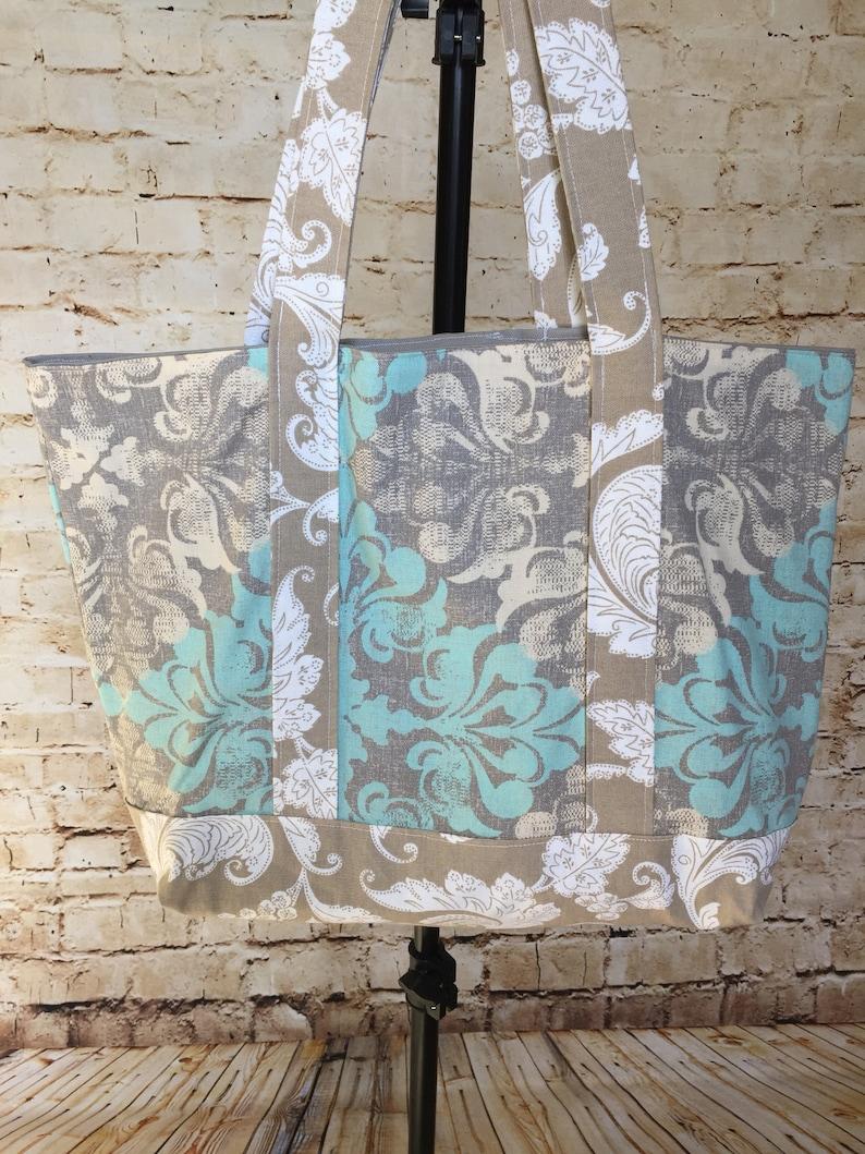 Shopping Tote Luggage Canvas Bag Carry On Purse Tote Bag Handbag Diaper Bag Shopping Bag