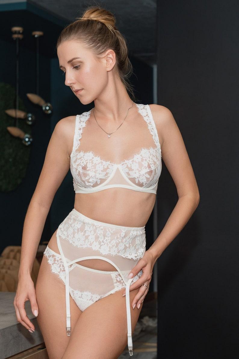 1451937107e44 Wedding lingerie / wedding party gift / bridal lingerie / see | Etsy
