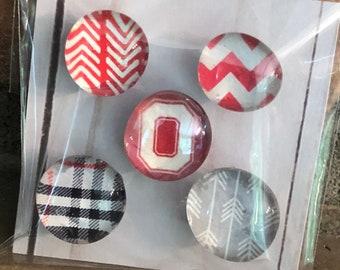MAGNETS | Fridge magnets - Ohio Magnets - Refrigerator Magnets - Bulletin Board Magnets - Team Magnet - Message Board Magnet - Office Magnet