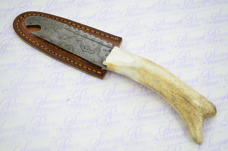 Fantastic Genuine Stag//Antler Handle Corkscrew Made In Sheffield England