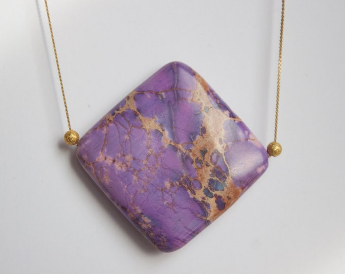 "16"" Imperial Jasper Necklace"