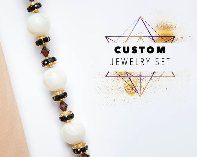 Custom Jewelry Set