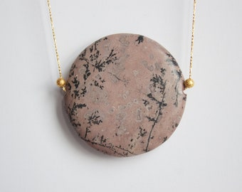"16"" Artistic Jasper Necklace"