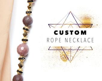 Custom Rope Necklace