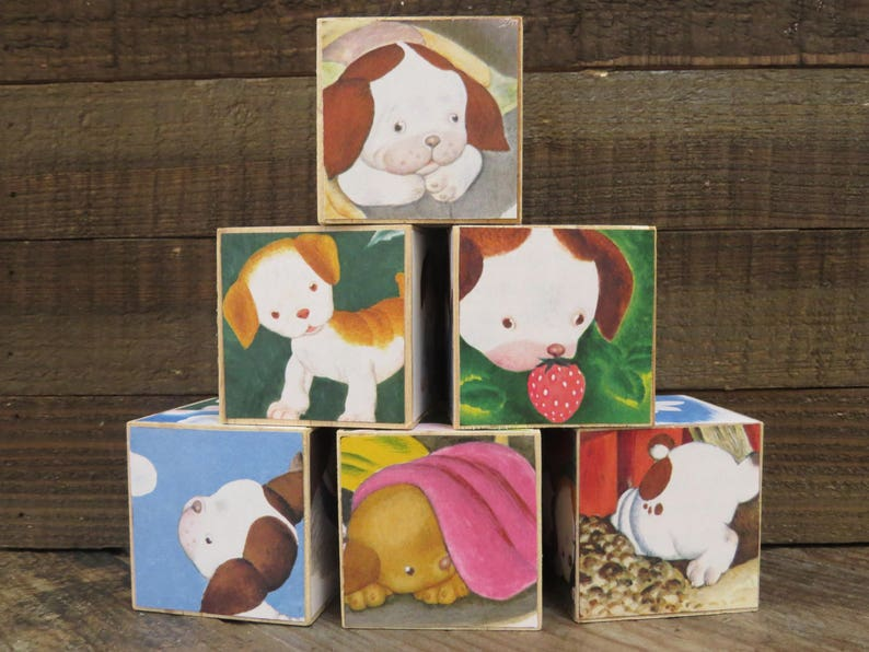 Storybook Blocks / The Poky Little Puppy / Baby Blocks / image 0