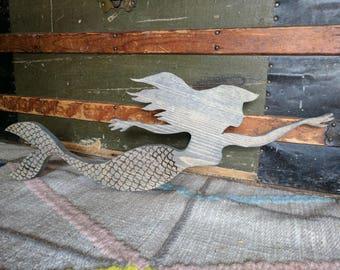 Mermaid  Wood Cut-Out