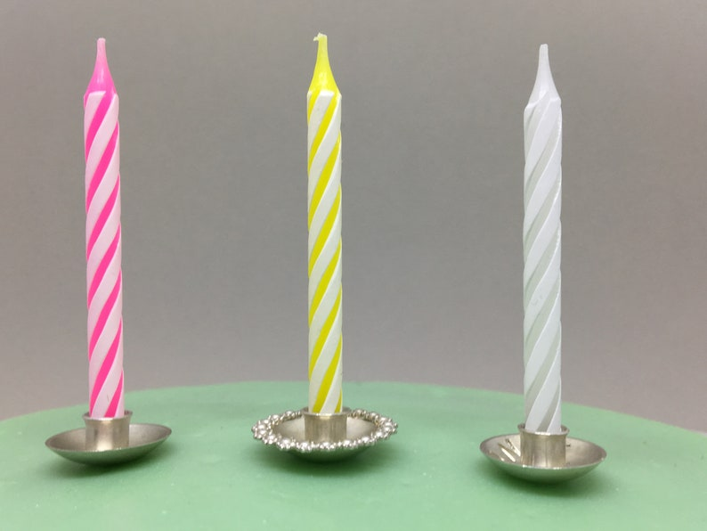 Cake Candle Holders For Birthday Candles And Wedding