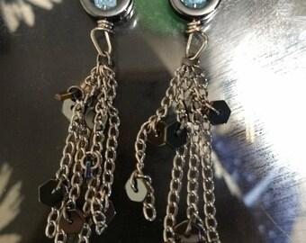 Space dust earrings