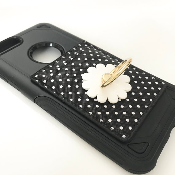 Business Card Holder Iphone Plus Case Pop Socket Case Etsy