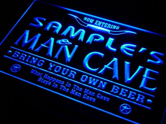 Personalized Neon Signs Magnificent Personalized Neon Sign Custom Name LED Sign Home Bar LED Man Etsy