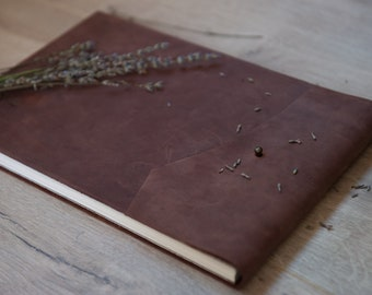 Boudoir Album | Boudoir Photobook | Anniversary Gift For Men | Groom gift | Sexy Boudoir Book | Boudoir Photo book | Brown photo album