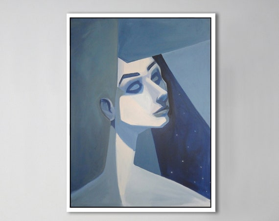 Blue Girl - Julie Coyle Associates