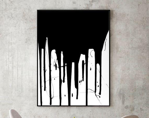 Black Drip No. 1