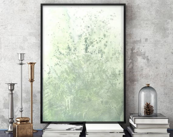 Green Salt - Watercolor Framed Giclée Print