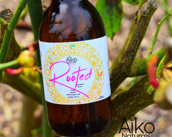 Featured listing image: Rooted (Precious Hair Blend) • Antioxidant Hair Oil