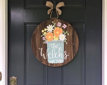 Spring Door Decor Etsy