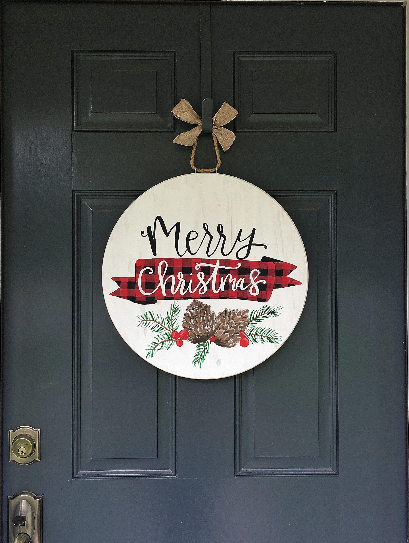 Noël Elf Porte Cintre-En bois FETE Décoration Décoration De Noël