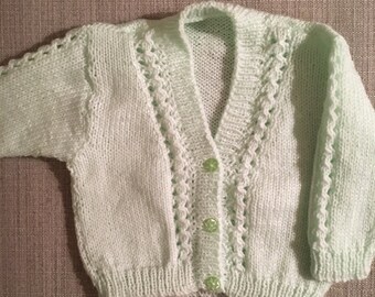 3-6 Months Baby's Cardigan