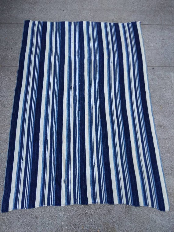 ccfd853477 Authentic African jean stripes textile