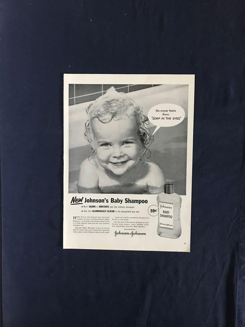 Johnson/'s Baby Shampoo Ad