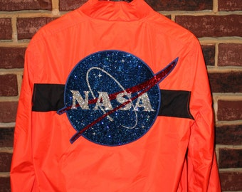 Blinged Out NASA Patch