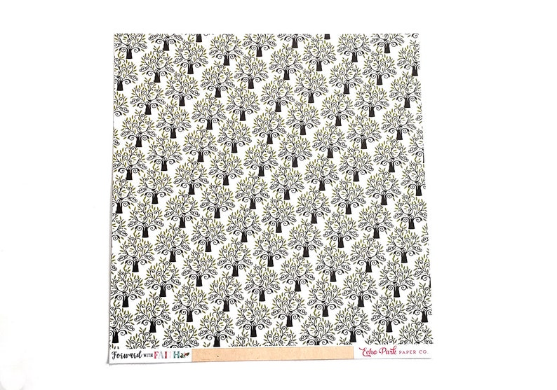 GROWING FAITH Forward With Faith12x12 Double-Sided Textured Cardstock Echo Park Paper Scrapbook Supplies Cardmaking Papercrafting