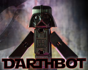 Mega sized Darth Vader 3D printed Stikbot style figure toy (DARTHBOT)